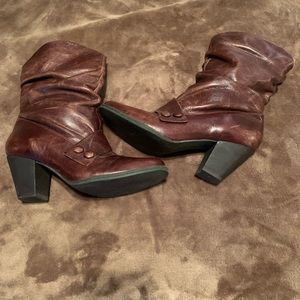 Langley brown boots